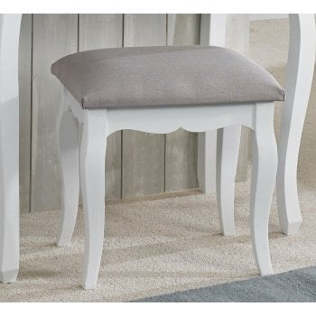 Lpd furniture Brittany vintage shabby chic dressing table stool