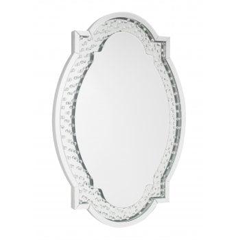 Lpd furniture Valentina oval mirror