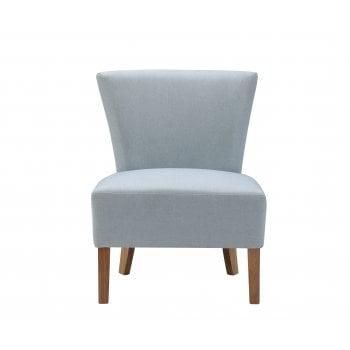 Lpd furniture Austen blue fabric accent chair