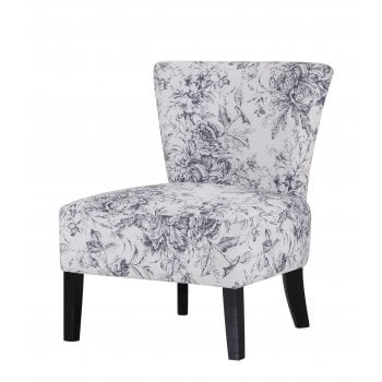 Lpd furniture Austen floral fabric accent chair