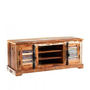 Indian hub Coastal tv cabinet