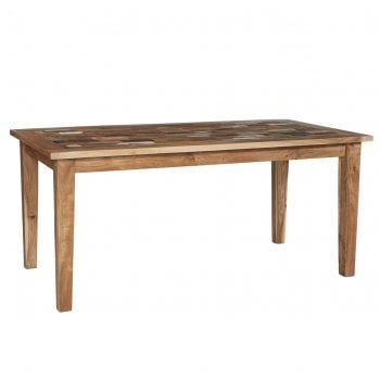 Indian hub Coastal large dining table