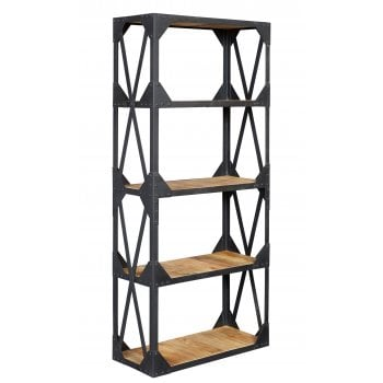 Indian hub Ascot large bookcase