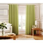 Loretta lime readymade eyelet curtains