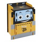 JCB yellow painted boys 2 drawer chest