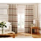 Judy blue striped readymade eyelet curtain