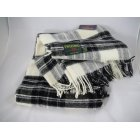 Jura grey dress stewart tartan 150cm x 183cm throw
