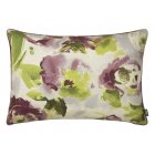 Piazza damson floral rectangular cushion 40cm x 60cm