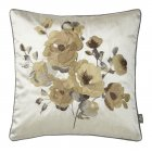 Veneto sepia floral feather filled cushion 45cm