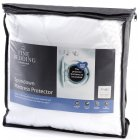 Spundown soft micro polyester mattress protector