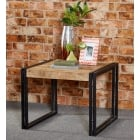 Cosmo recycled industrial side table