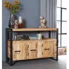 Cosmo industrial wood sideboard