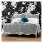 Alexandria silver cane bedframe