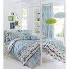 Aviana Duck Egg Butterfly Bedspread 229cms wide x 195cms long