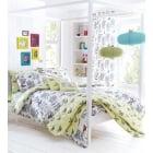 Aviana Multi Butterfly Bedspread 229cms wide x 195cms long