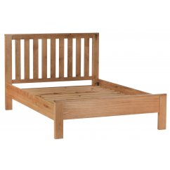 Hudson solid oak bedframe