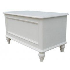 Bella painted white blanket box