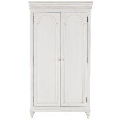 Bella painted white full hanging ladies wardrobe