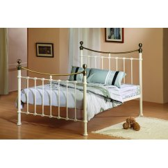 Elizabeth ivory brushed antique nickel