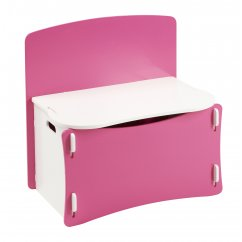 Blush pink and white girls Toybox