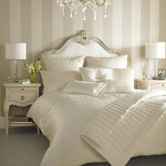 Melina oyster embroidered duvet cover