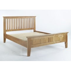 Sherwood light oak 4ft6 bed