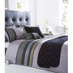 Newton black geometric duvet duvet set