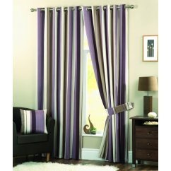 Whitworth heather readymade eyelet curtains