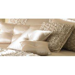 monte carlo champagne frilled cushion cover 50cm