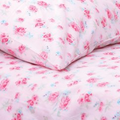 Rosie pink floral printed duvet set (available in 3 sizes)