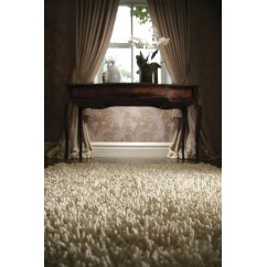 Imperial ivory hand woven 100% pure wool rug