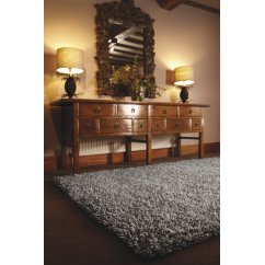 Imperial grey whisper hand woven 100% pure wool rug
