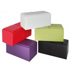 Otto storage ottoman (available in 5 colours)