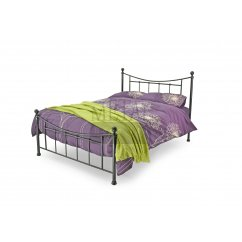 Black gunmetal 4ft bed