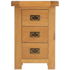 Montreux large 3 drawer bedside cabinet