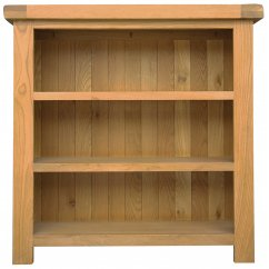 Montreux solid oak small bookcase
