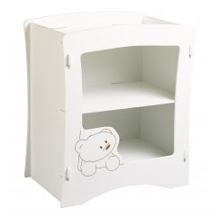 Cub nursery changer white painted