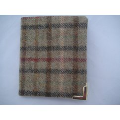 Gents wallet genuine wool scottish made in balmoral sage