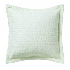 Bliss champagne square pillowcase 65cm