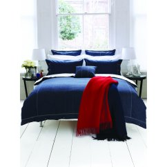Hampton denim navy duvet cover