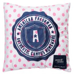 Louisiana polka dot 30cm cushion - candy