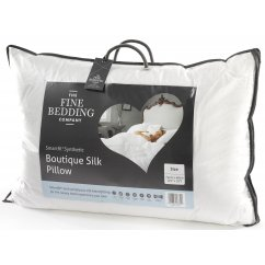 Boutique silk synthetic pillow