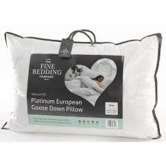 Platinum european goose down pillow