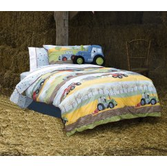 field days boys pure cotton duvet set