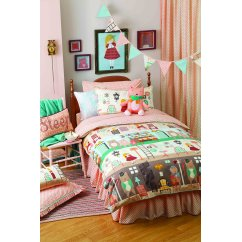 Goldilocks girls multi duvet set
