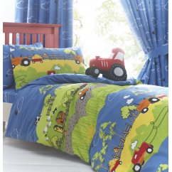 Hilltop farm boys duvet set