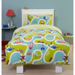 Around we go adventure duvet set