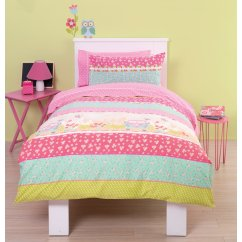 Sweet dreams girls floral duvet set