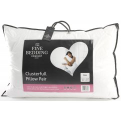 Clusterfull twin pack cotton clusterfall pillows