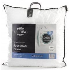 Spundown square cotton synthetic pillow